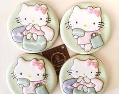 Biscoitos Decorados - Hello Kitty