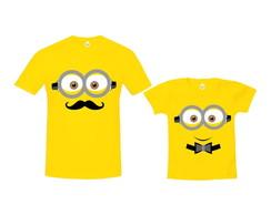 ... Kit Camiseta Carinha de Minions 92c0bb8e54