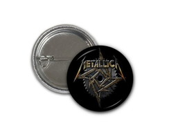 Botton Metallica - 2,5cm