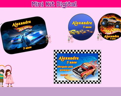 Mini Kit Digital - Hot Wheels