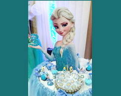 Display Busto Toten Frozen Elsa 60 cm