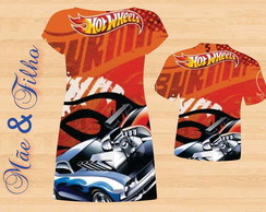Camiseta infantil Hot Wheels (1 peça)