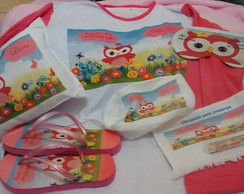 Kit Camisola manga comprida