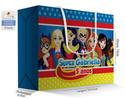 Caixa Surpresa Grande - Super Hero Girls