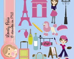 PARIS - Lovely Paris Kit Digital