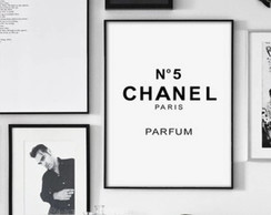 Pôster Chanel Perf A3