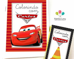 Kit Colorir - Carros
