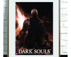 Cartaz do game Dark Souls II