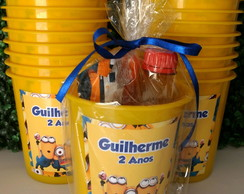 kit cinema personalizado minions