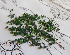 Strass Verde Esmeralda 2mm