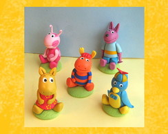 backyardigans aplique de biscuit