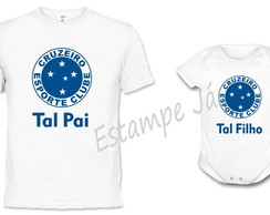 Camiseta e Body do Cruzeiro Dia dos Pais