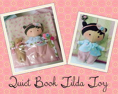 Quiet Book Mini Tilda Toy