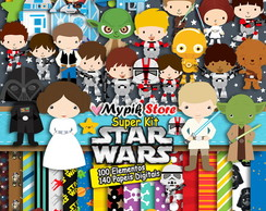 Super Kit Digital Star Wars Completo