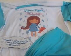 25467761f Pijama longo adulto personalizado no Elo7