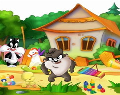 PAINEL BABY LOONEY TUNES (3)FRETE GRÁTIS