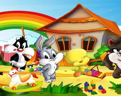 PAINEL BABY LOONEY TUNES (2)FRETE GRÁTIS