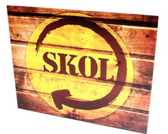 Placa Decorativa Gift Skol