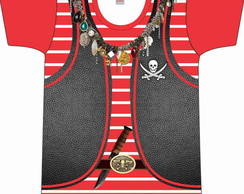 Camiseta adulto Pirata