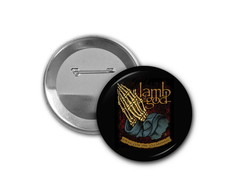 Botton Lamb of God - 4,5cm