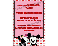 Convite Minnie Mouse Whatsapp -digital