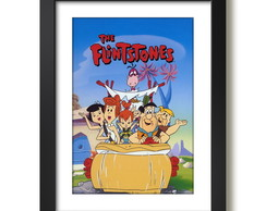 Quadro The Flintstones Serie Cartoon F51