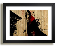 Quadro Serie Naruto Tv Antigo Decor F51