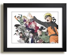 Quadro Series da TV Naruto Decoracao F51