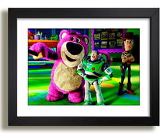 Quadro Cartoon Toy Story Decoracao F51