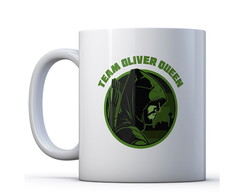 Caneca Team Oliver Queen - Arrow