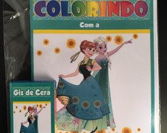 Kit de Colorir Frozen Fever