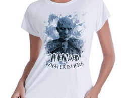 Camiseta Babylook GoT White Walkers