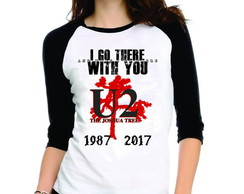 Camiseta U2 Joshua Tree Red 3/4