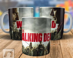 Caneca The Walking Dead Negan vs Rick T8