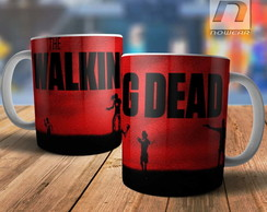 Caneca Twd Série The Walking Dead Zumbis