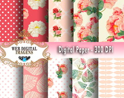 Papel Digital Musa - 10 Papeis