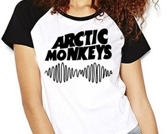 Camiseta Arctic Monkeys Rock Raglan