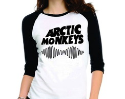 Camiseta Arctic Monkeys Rock 3/4