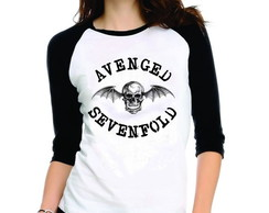 Camiseta Avenged Sevenfold 3/4
