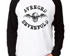 Camiseta Avenged Sevenfold ROCK Raglan