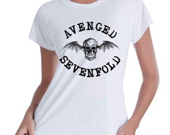 Camiseta Babylook Avenged Sevenfold ROCK
