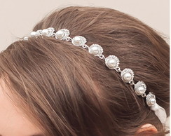 Headband Chic Pérola