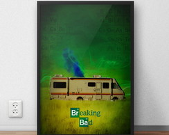 Quadro Breaking Bad (30x40)