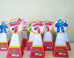Caixa Piramide Super Wings