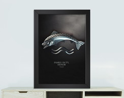 Quadro game of thrones Tully