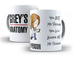 Caneca Grey´s Anatomy- You´re My Person
