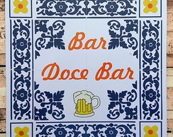 Placa Decorativa Bar Doce Bar