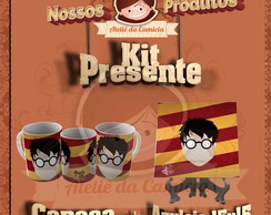 Kit Presente Harry Potter 01