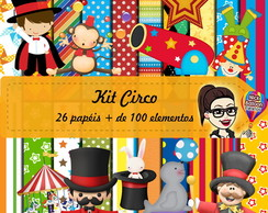 Kit Scrapbook Digital | Circo