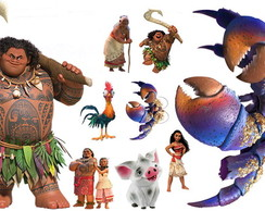 Display Festa Infantil Moana